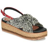 Παπούτσια Γυναίκα Σανδάλια / Πέδιλα Gioseppo NEVELE Black / Red