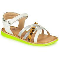 Παπούτσια Κορίτσι Σανδάλια / Πέδιλα Gioseppo STAGGIA Άσπρο / Yellow