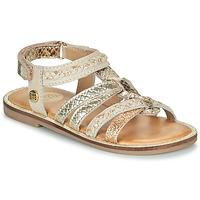 Παπούτσια Κορίτσι Σανδάλια / Πέδιλα Gioseppo PIGNOLA Beige / Gold