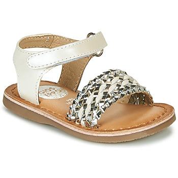Παπούτσια Κορίτσι Σανδάλια / Πέδιλα Gioseppo VARESE Άσπρο / Silver