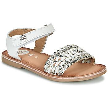 Παπούτσια Κορίτσι Σανδάλια / Πέδιλα Gioseppo VIETRI Άσπρο / Silver