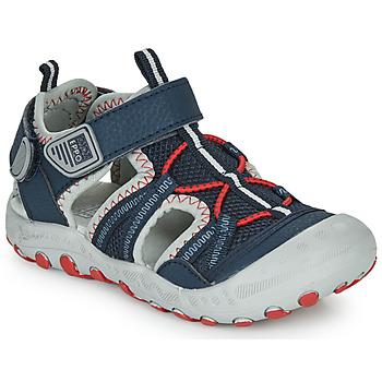 Παπούτσια Αγόρι Σπορ σανδάλια Gioseppo MAZATLAN Marine / Red