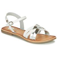 Παπούτσια Κορίτσι Σανδάλια / Πέδιλα Gioseppo GISTEL Άσπρο / Silver