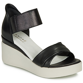 Παπούτσια Γυναίκα Σανδάλια / Πέδιλα André HERMINIA Black