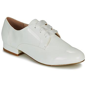 Παπούτσια Γυναίκα Derby André ERNESTINE Άσπρο