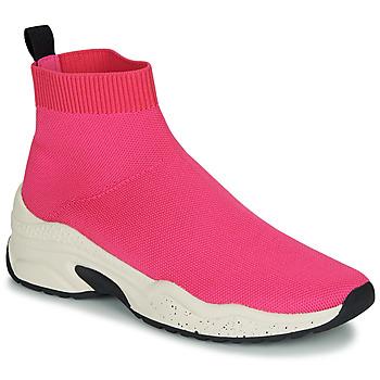 Παπούτσια Γυναίκα Ψηλά Sneakers André HARUNA Ροζ