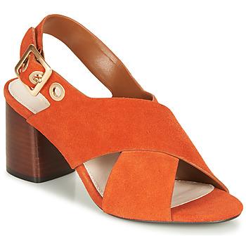 Παπούτσια Γυναίκα Σανδάλια / Πέδιλα André JANNINE Orange