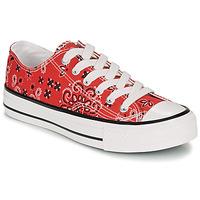Παπούτσια Γυναίκα Χαμηλά Sneakers André HAPPY Red