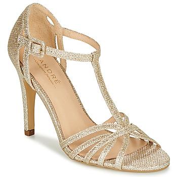 Παπούτσια Γυναίκα Γόβες André JOY Gold