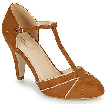 Παπούτσια Γυναίκα Γόβες André JULIETTE Camel