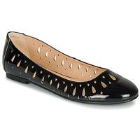 Παπούτσια Γυναίκα Μπαλαρίνες André JENNY Black / Vernis