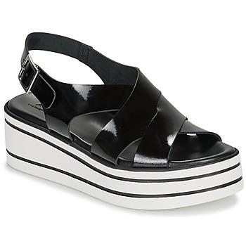 Παπούτσια Γυναίκα Σανδάλια / Πέδιλα André ELVIA Black