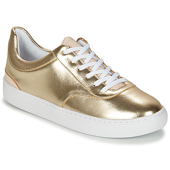 Παπούτσια Γυναίκα Χαμηλά Sneakers André VIORNE Gold