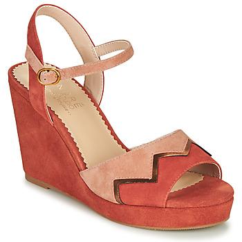 Παπούτσια Γυναίκα Σανδάλια / Πέδιλα André LA JONGLEUSE Ροζ