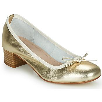 Παπούτσια Γυναίκα Μπαλαρίνες André POEME Gold