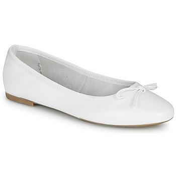 Παπούτσια Γυναίκα Μπαλαρίνες André PIETRA Άσπρο