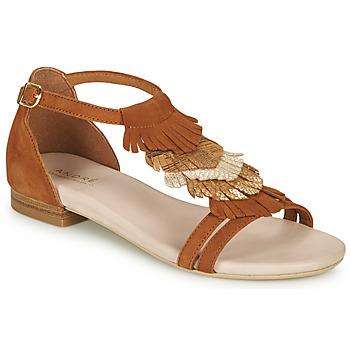 Παπούτσια Γυναίκα Σανδάλια / Πέδιλα André BRIANA Camel