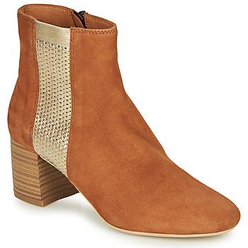 Παπούτσια Γυναίκα Μπότες André BINDY Camel
