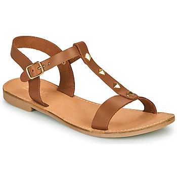 Παπούτσια Γυναίκα Σανδάλια / Πέδιλα André DOMINOU Camel