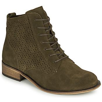 Παπούτσια Γυναίκα Μπότες André GODILLINE Kaki