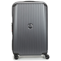 Τσάντες Valise Rigide Delsey SECURITIME ZIP 68 CM 4 DOUBLE WHEELS Grey