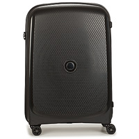 Τσάντες Valise Rigide Delsey 72 CM 4 DOUBLE WHEELS TROLLEY CASE Black