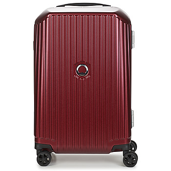 Τσάντες Valise Rigide Delsey SECURITIME FRAME 55 CM DOUBLE WHEELS CABIN Red