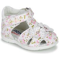 Παπούτσια Κορίτσι Σανδάλια / Πέδιλα Primigi 5401300 Άσπρο / Ροζ