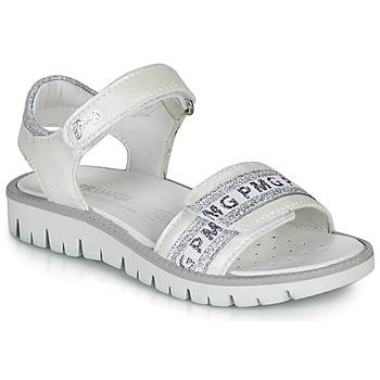 Παπούτσια Κορίτσι Σανδάλια / Πέδιλα Primigi 5386700 Άσπρο / Silver