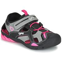 Παπούτσια Κορίτσι Σπορ σανδάλια Primigi 5460011 Black / Ροζ