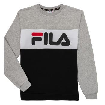 Υφασμάτινα Παιδί Φούτερ Fila FLORE Grey / Black
