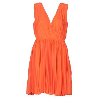 Υφασμάτινα Γυναίκα Κοντά Φορέματα Moony Mood PE20-RPL-ROUGE Red