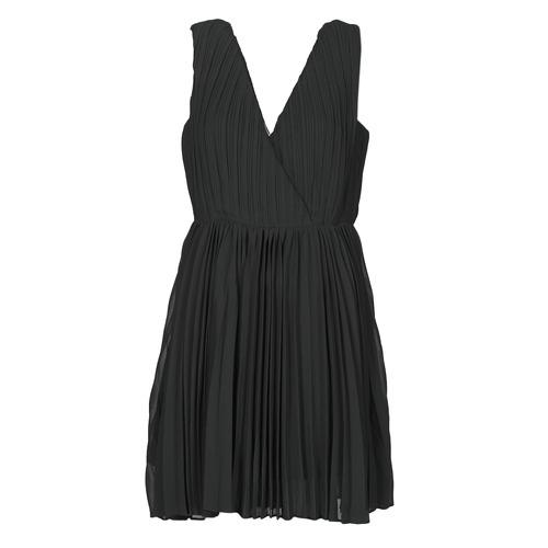 Υφασμάτινα Γυναίκα Κοντά Φορέματα Moony Mood MINIZIA Black