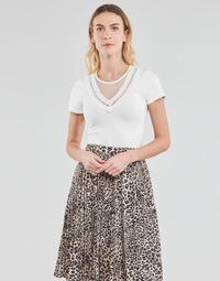 Υφασμάτινα Γυναίκα Μπλούζες Moony Mood DURINO Άσπρο