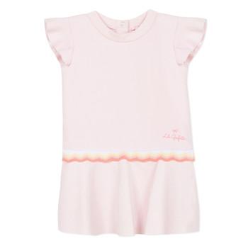 Υφασμάτινα Κορίτσι Κοντά Φορέματα Lili Gaufrette NARITTE Ροζ