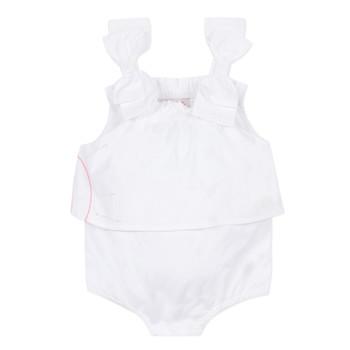 Υφασμάτινα Κορίτσι Ολόσωμες φόρμες / σαλοπέτες Lili Gaufrette NOLENI Άσπρο