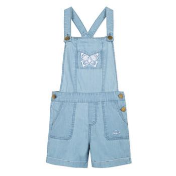 Υφασμάτινα Κορίτσι Ολόσωμες φόρμες / σαλοπέτες Lili Gaufrette NANYSSE Μπλέ