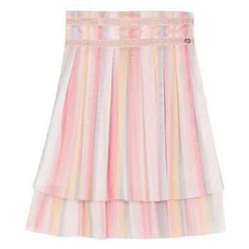 Υφασμάτινα Κορίτσι Φούστες Lili Gaufrette BENIENE Multicolour