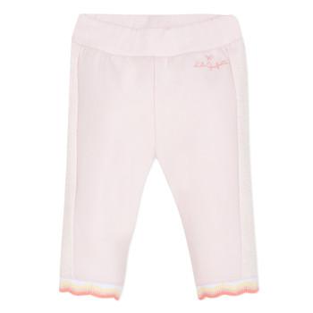 Υφασμάτινα Κορίτσι Παντελόνια Πεντάτσεπα Lili Gaufrette DIM. Ροζ