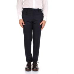 Υφασμάτινα Άνδρας Παντελόνια κοστουμιού Incotex 1AT091 1721T Blue