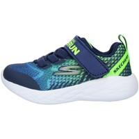 Παπούτσια Παιδί Χαμηλά Sneakers Skechers 97858N Blue Lime