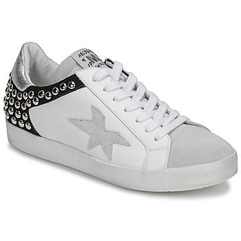 Παπούτσια Γυναίκα Χαμηλά Sneakers Meline GELLABELLE Άσπρο / Black