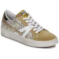 Παπούτσια Γυναίκα Χαμηλά Sneakers Meline GERIE Gold