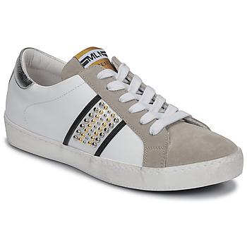 Παπούτσια Γυναίκα Χαμηλά Sneakers Meline GARILOU Άσπρο / Beige