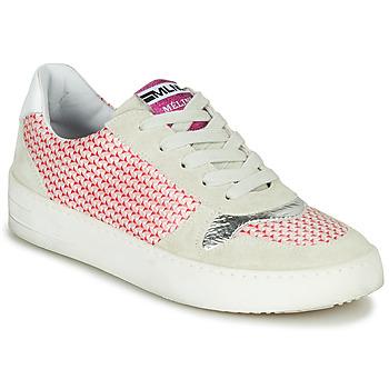 Παπούτσια Γυναίκα Χαμηλά Sneakers Meline GUILI Beige / Red