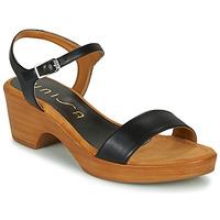 Παπούτσια Γυναίκα Σανδάλια / Πέδιλα Unisa IRITA Black