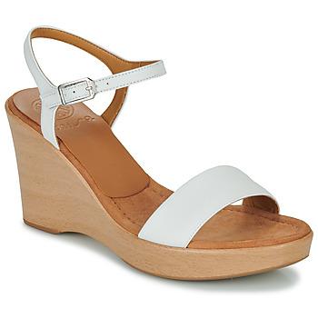 Παπούτσια Γυναίκα Σανδάλια / Πέδιλα Unisa RITA Άσπρο