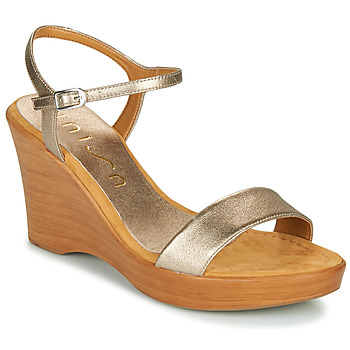 Παπούτσια Γυναίκα Σανδάλια / Πέδιλα Unisa RITA Silver