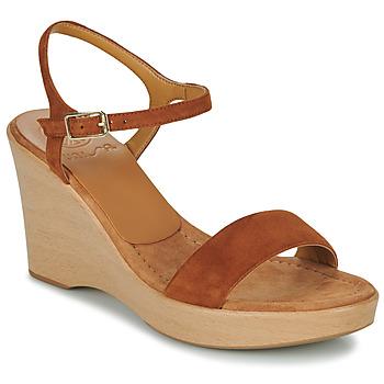 Παπούτσια Γυναίκα Σανδάλια / Πέδιλα Unisa RITA Brown