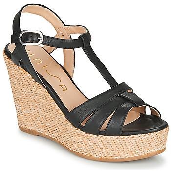 Παπούτσια Γυναίκα Σανδάλια / Πέδιλα Unisa MACA Black